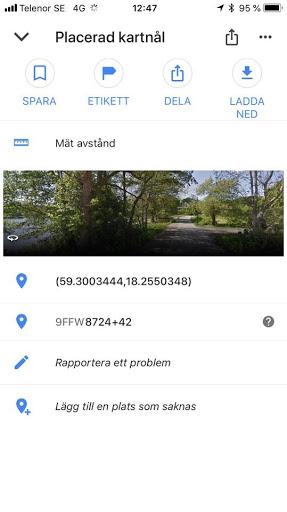 Ställplats Lännersta Saltsjö Boo Nacka Stockholm (lännerstabadet) Ställplats